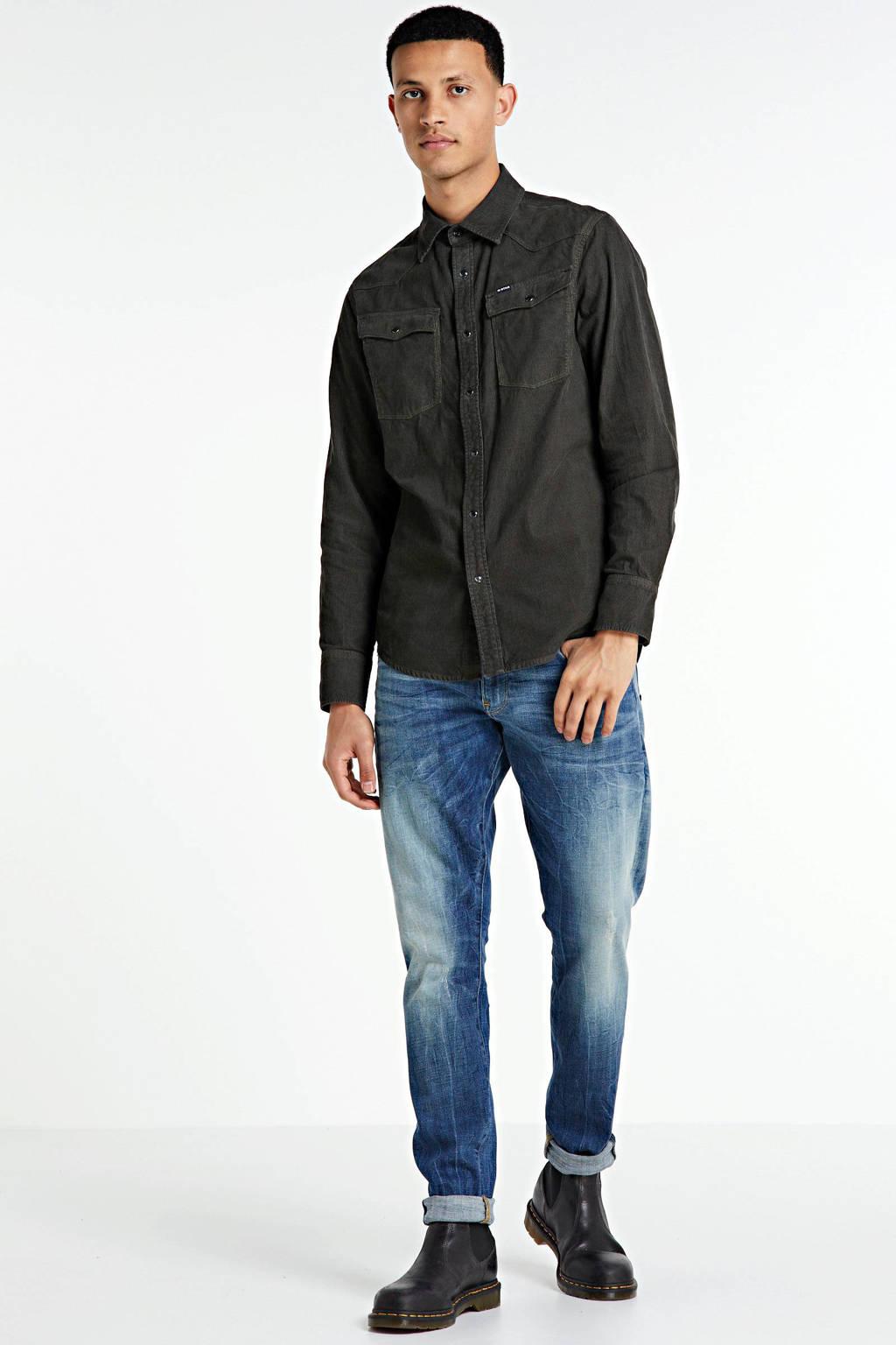 G-Star RAW Revend skinny jeans stonewashed, Stonewashed