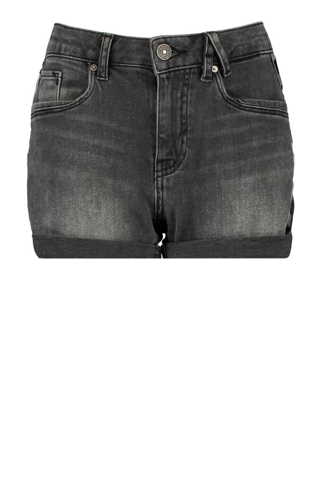 America Today Junior jeans short washed black