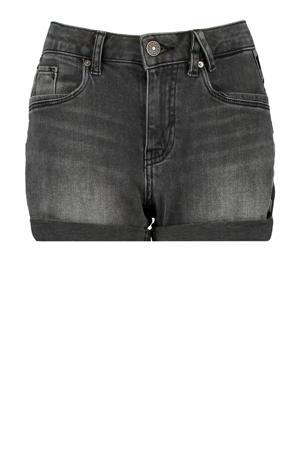 jeans short washed black