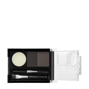 Eyebrow Cake Powder - Black/ Grey ECP01