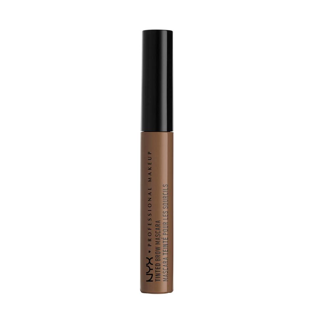 NYX Professional Makeup Tinted Brow Mascara - Chocolate TBM02
