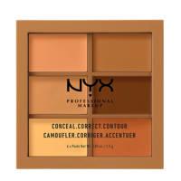 NYX Professional Makeup Conceal, Correct, Contour Palette - Deep 3CP03