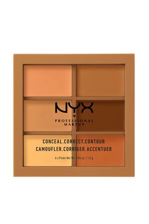Conceal, Correct, Contour Palette - Deep 3CP03