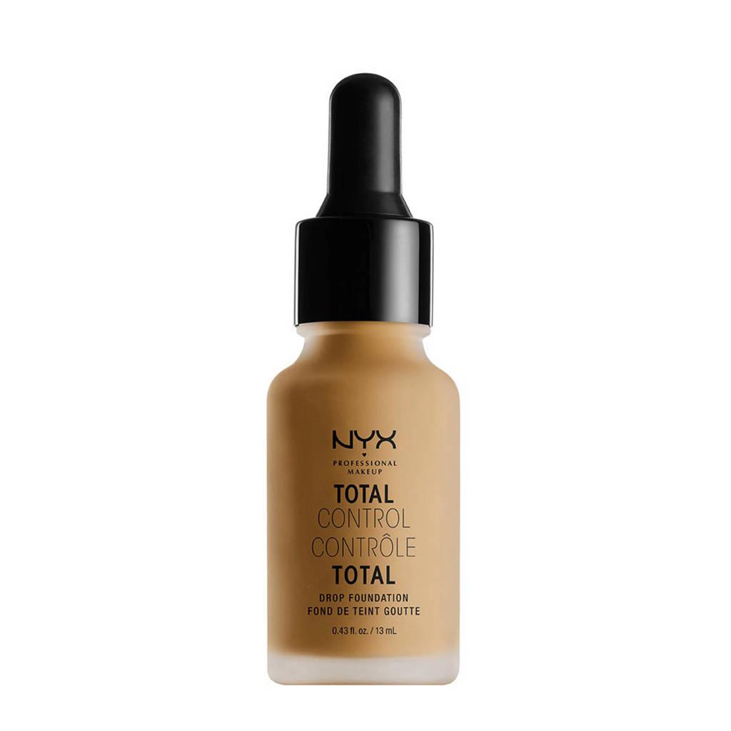 NYX Professional Makeup Total Control Drop Foundation - Caramel TCDF15