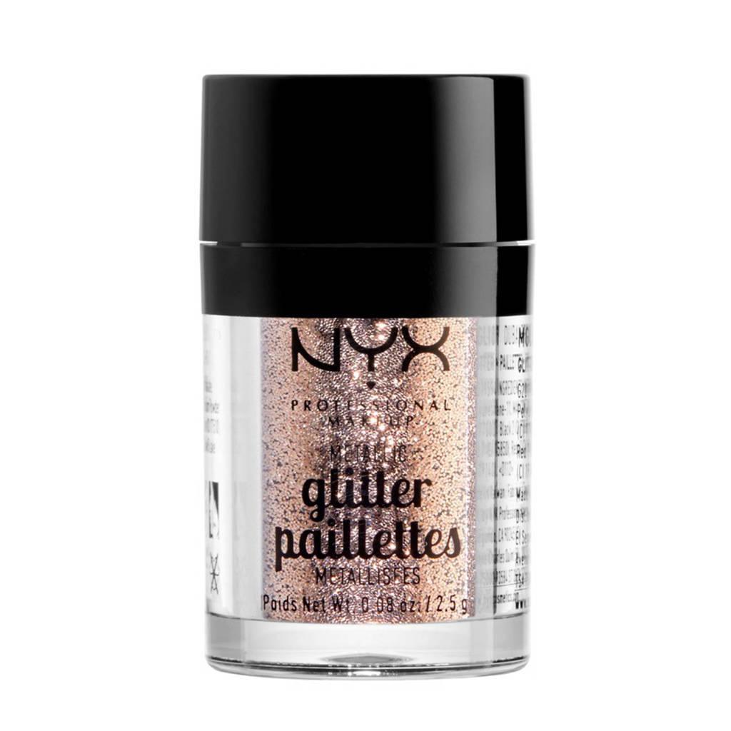 NYX Professional Makeup Metallic Glitter - Goldstone