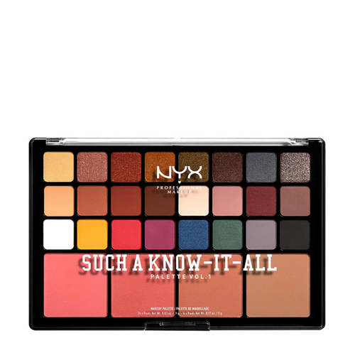 NYX Professional Makeup Such A Know-It-All Palette