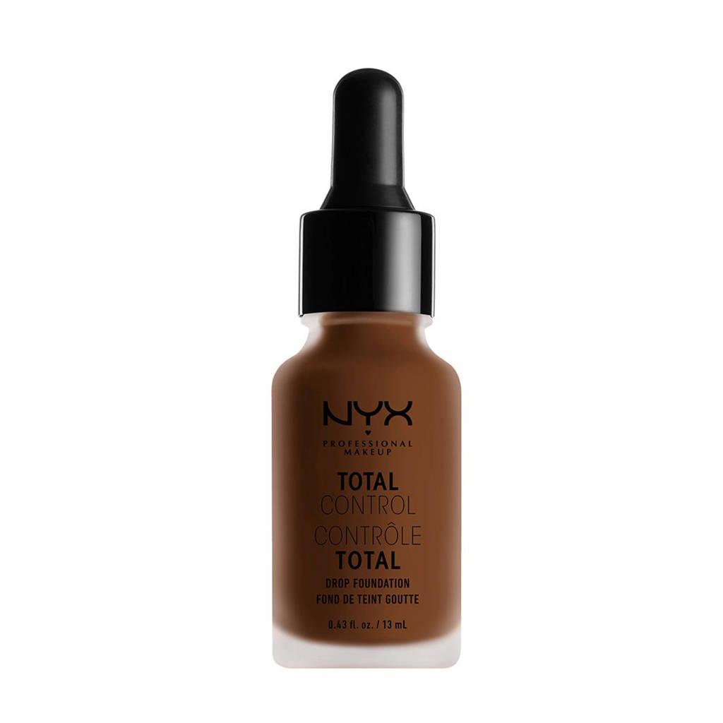 NYX Professional Makeup Total Control Drop Foundation - Mocha TCDF19