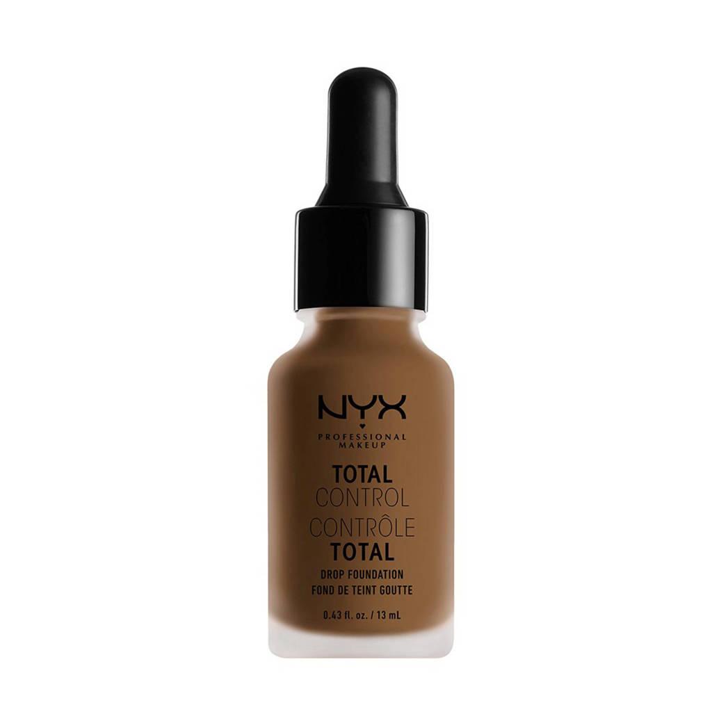 NYX Professional Makeup Total Control Drop Foundation - Deep Sable TCDF18