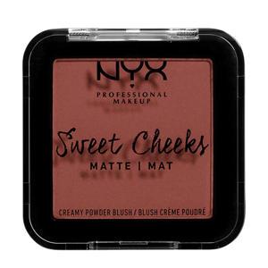 Sweet Cheeks Matte Creamy Powder blush - Totally Chili