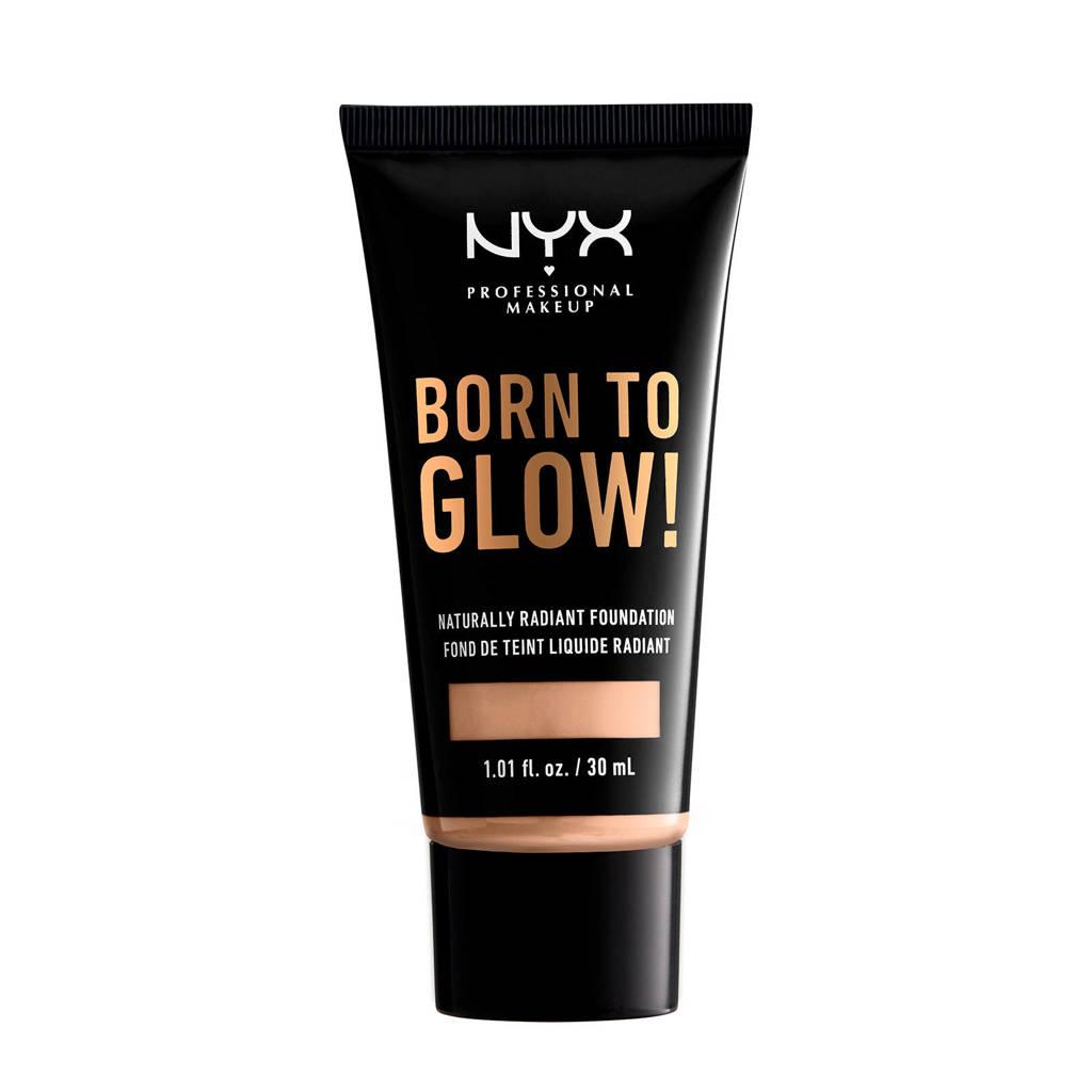 NYX Professional Makeup Born To Glow! Naturally Radiant Foundation - Vanilla BTGRF06