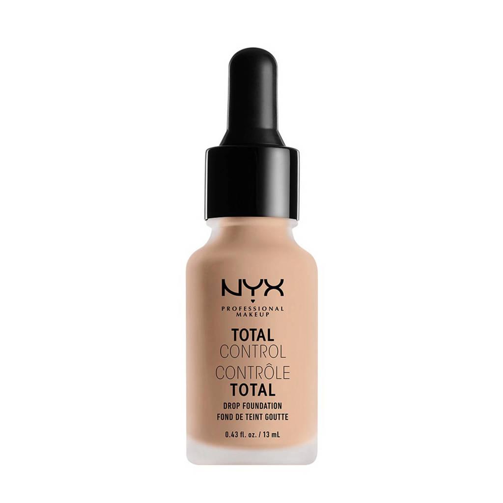 NYX Professional Makeup Total Control Drop Foundation - Light TCDF05