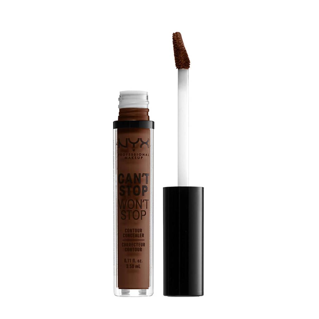 NYX Professional Makeup  Can't Stop Won't Stop Contour concealer - Deep Walnut CSWSC22.7