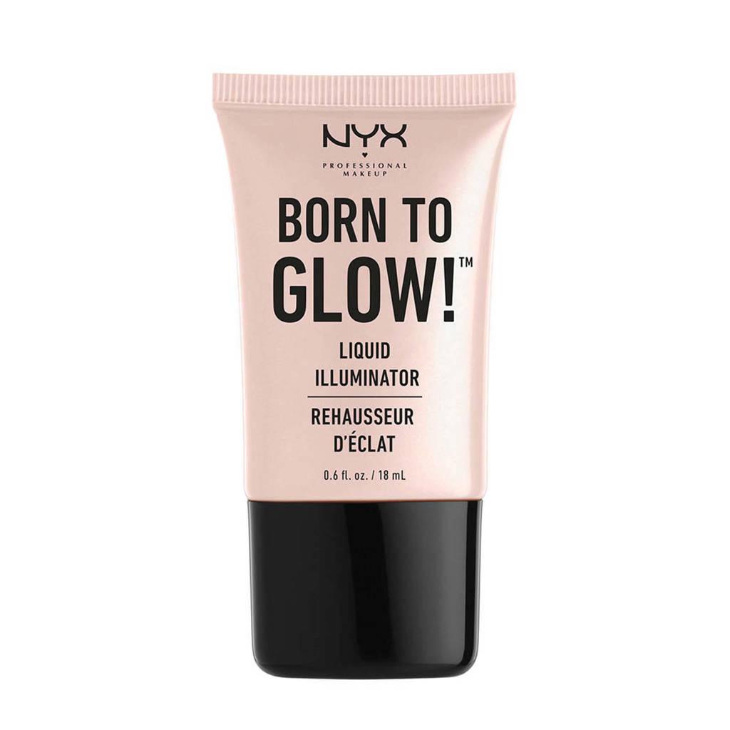 NYX Professional Makeup Born To Glow Liquid Illuminator - Sunbeam LI01