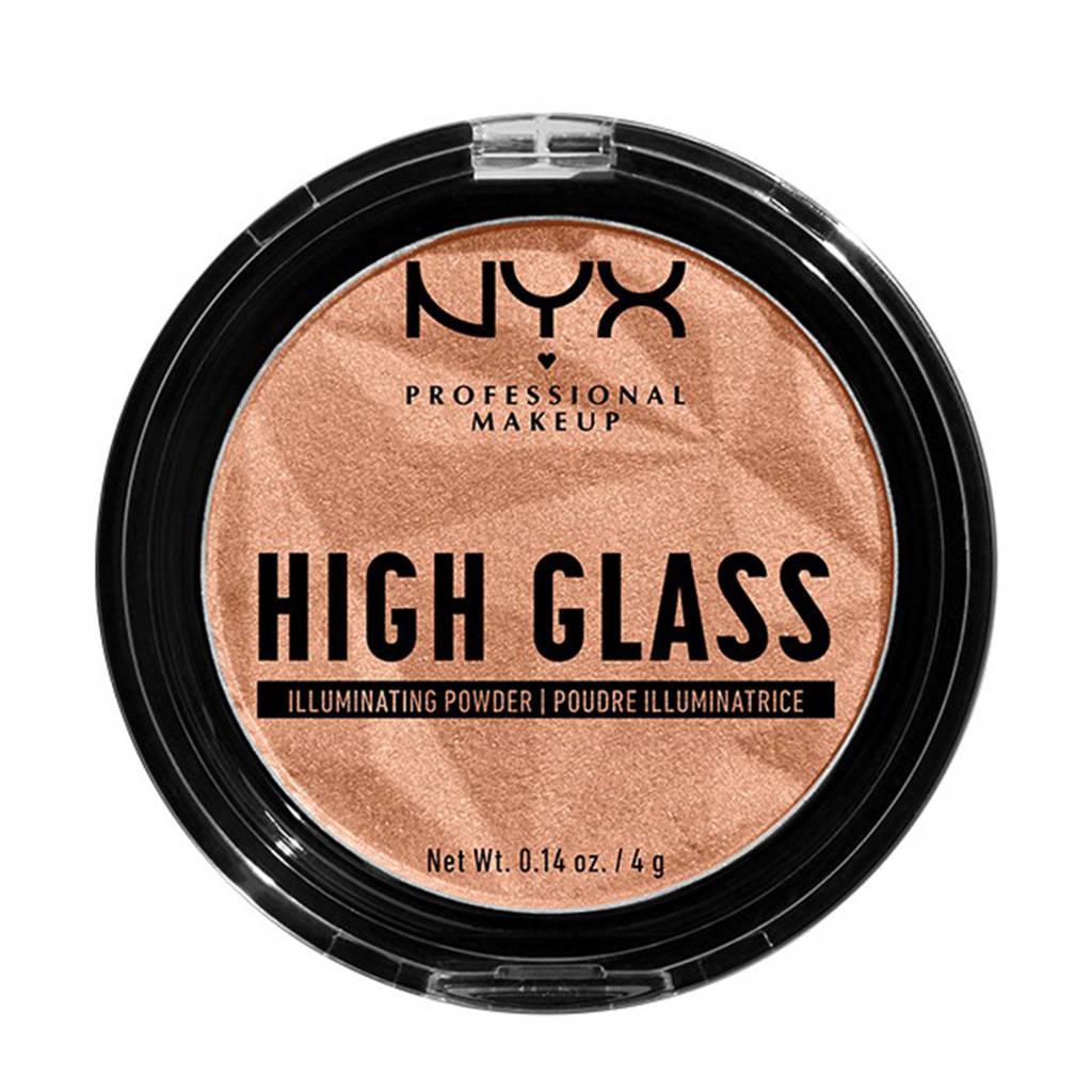 NYX Professional Makeup High Glass Illuminating Powder - Daytime Halo HGIP02