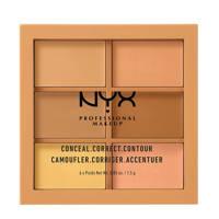 NYX Professional Makeup Conceal, Correct, Contour Palette - Light 3CP01