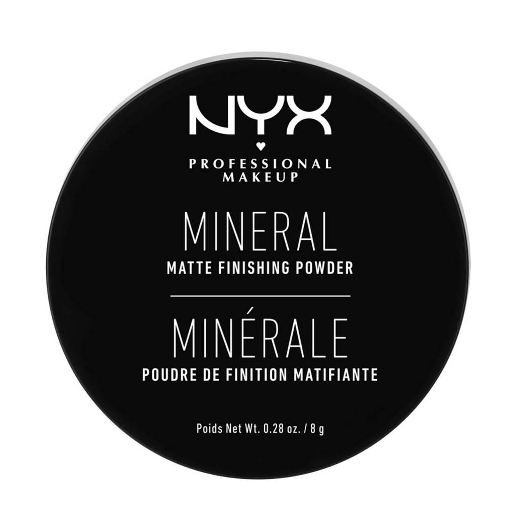 NYX Professional Makeup  Mineral Finishing Powder poeder - Light/Medium MFP01, Light/Medium MFP01