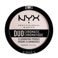 NYX Professional Makeup Duo Chromatic Illuminating Powder - Snow Rose DCIP04