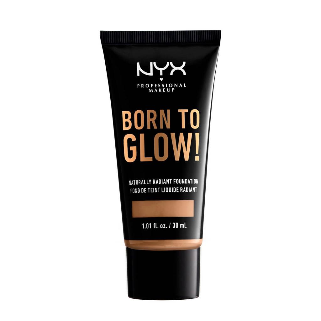 NYX Professional Makeup Born To Glow! Naturally Radiant Foundation - Caramel BTGRF15