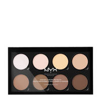 NYX Professional Makeup Highlight & Contour Pro Palette - HCPP01