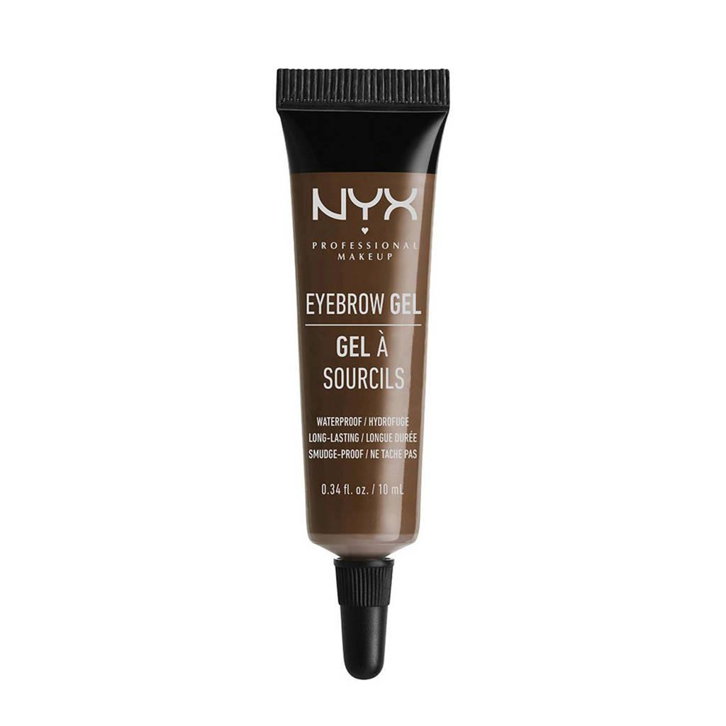 NYX Professional Makeup Eyebrow Gel - Espresso EBG04