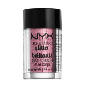 Brillants Lichaamsglitter - Rose