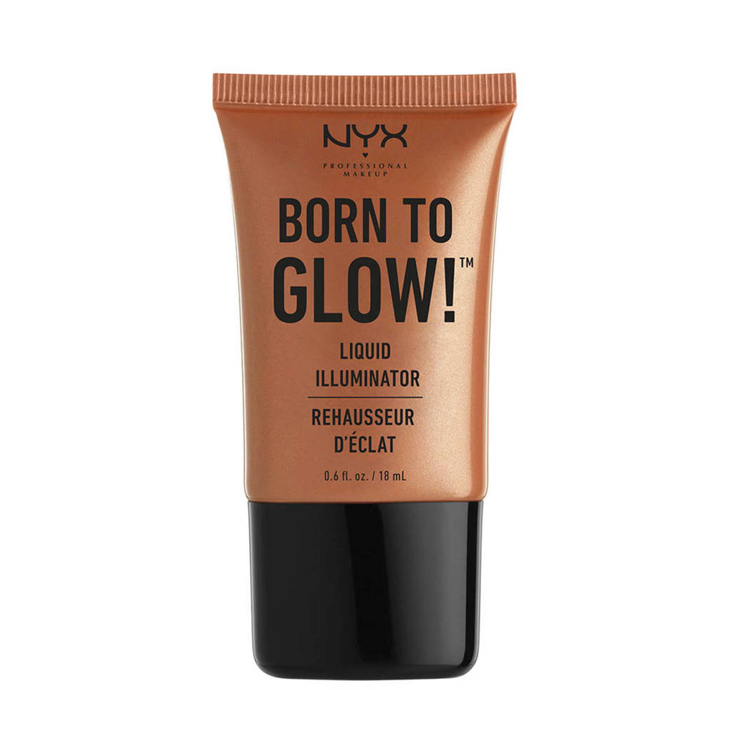 NYX Professional Makeup Born To Glow Liquid Illuminator-highlighter - 01 Sunbeam