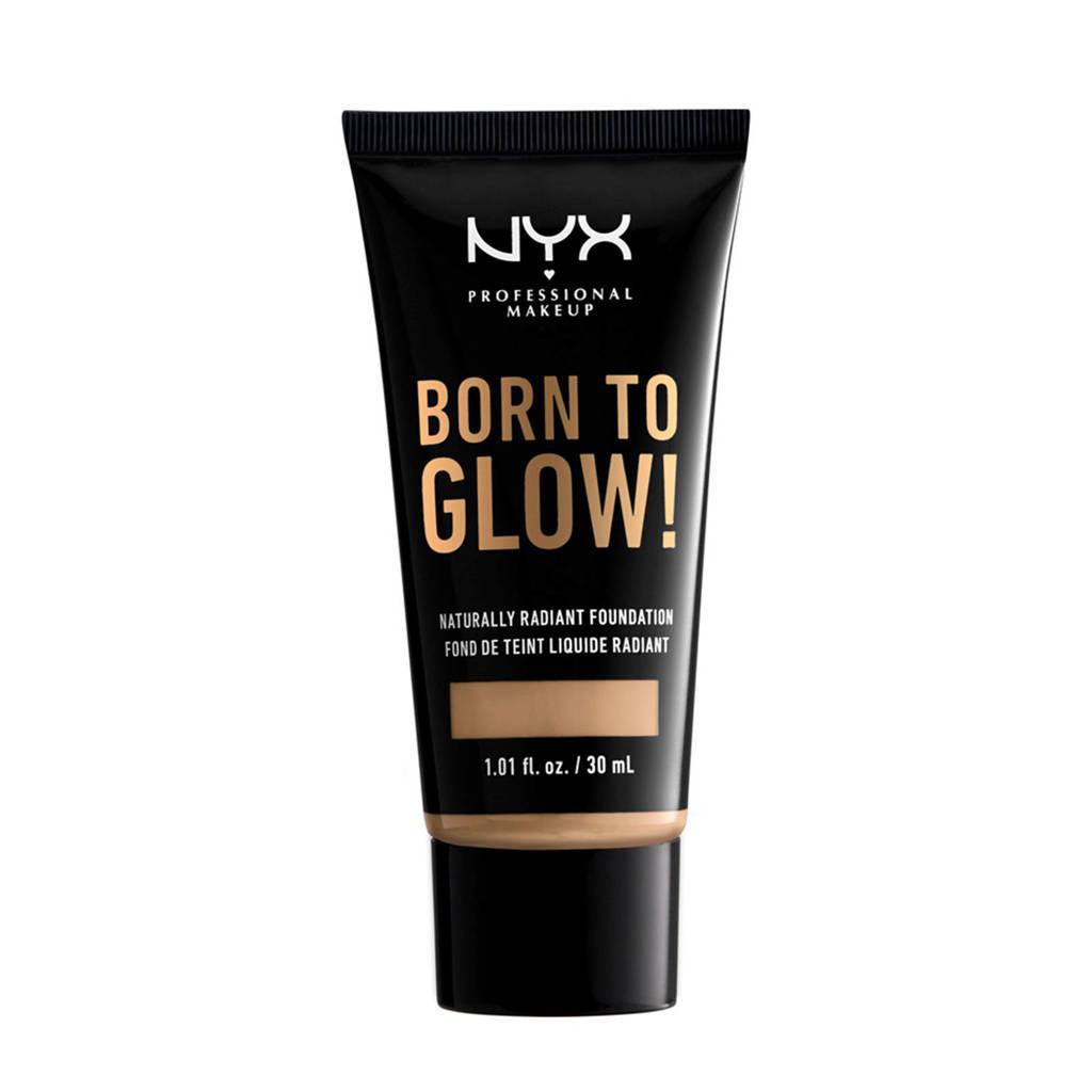 NYX Professional Makeup Born to Glow! Naturally Radiant Foundation - Buff BTGRF10