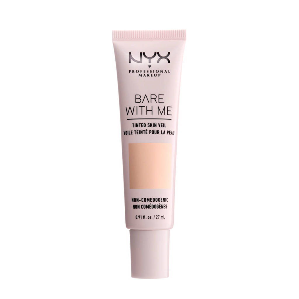 NYX Professional Makeup Bare With Me Tinted Skin Veil-foundation - Pale Light BWMSV01