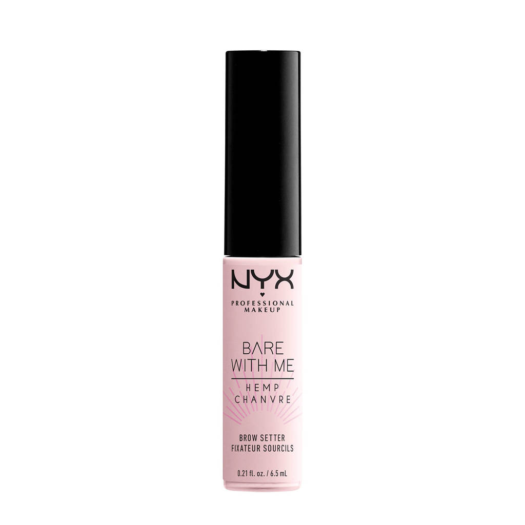 NYX Professional Makeup Bare With Me Hemp Brow Setter - BWMHBS01, Clear