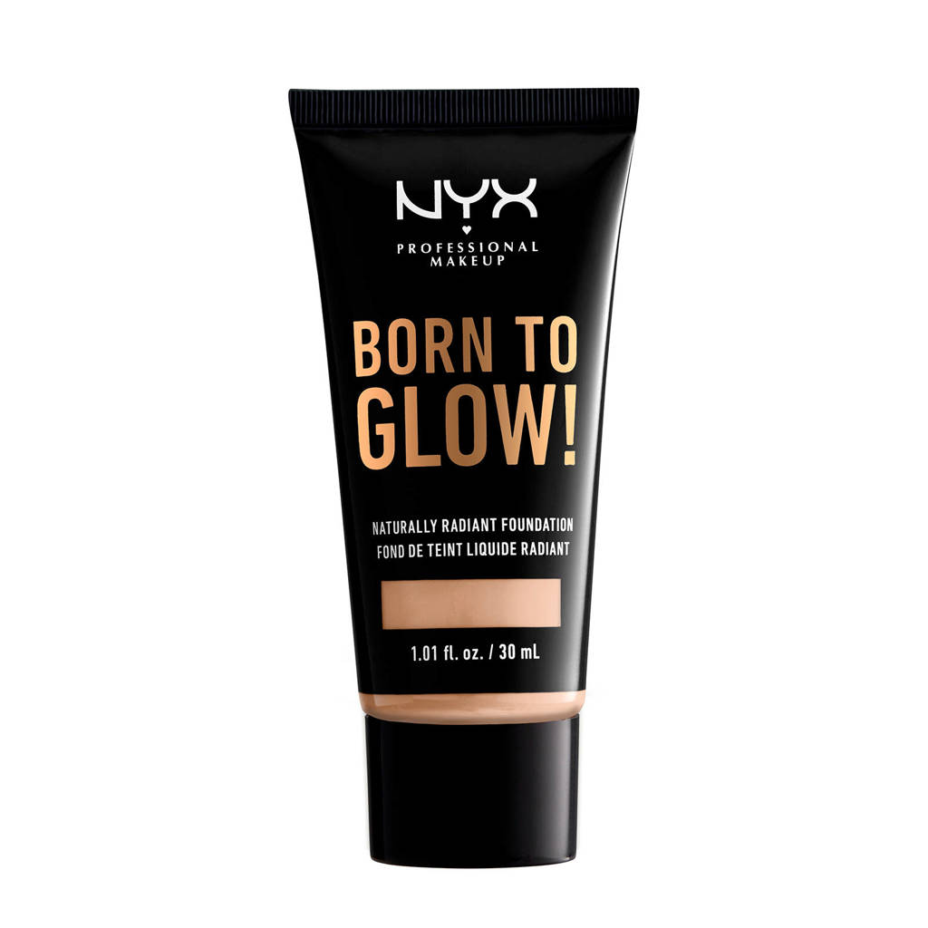 NYX Professional Makeup Born to Glow! Naturally Radiant foundation - Alabaster BTGRF02