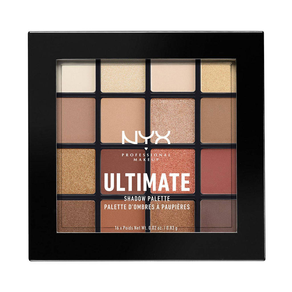 NYX Professional Makeup Ultimate Shadow Palette oogschaduw - Warm Neutrals USP03