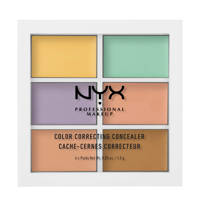 NYX Professional Makeup Color Correcting Palette oogschaduw - 3CP04