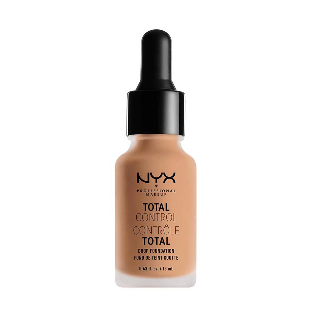 NYX Professional Makeup Total Control Drop foundation - Natural TCDF07