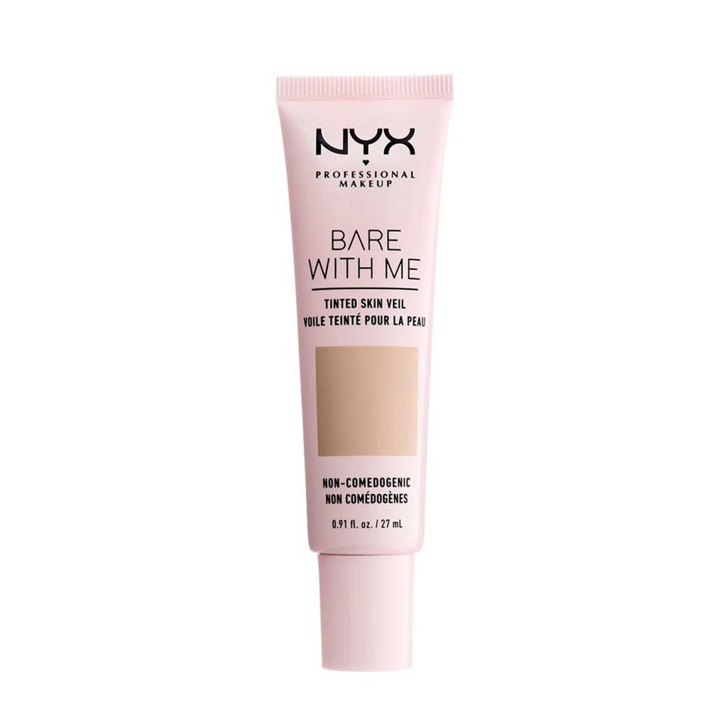 NYX Professional Makeup Bare With Me Tinted Skin Veil-foundation -True Beige Buff BWMSV04