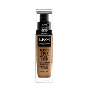 Can't Stop Won't Stop Full Coverage foundation - Caramel CSWSF15