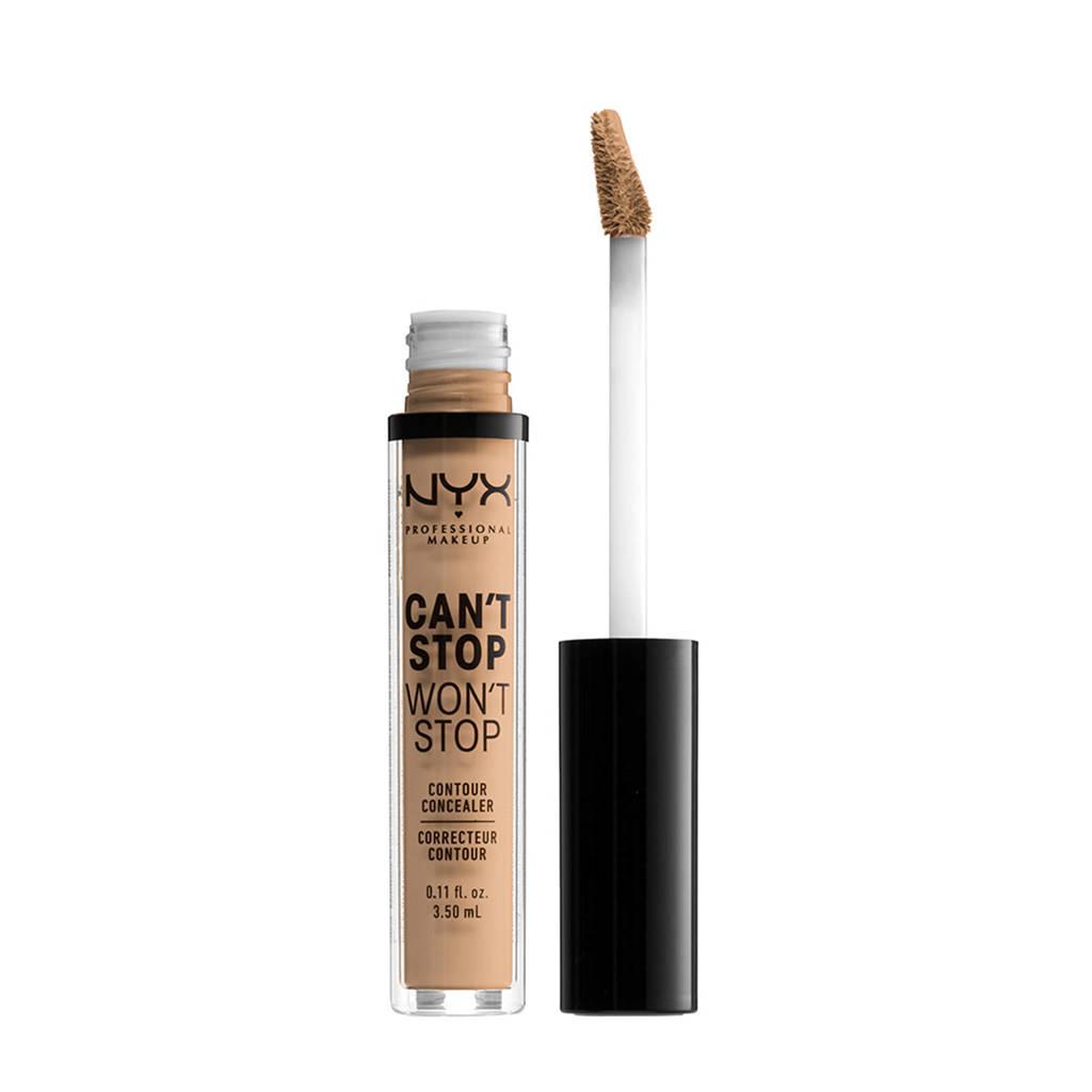 NYX Professional Makeup Can't Stop Won't Stop Contour concealer - Medium Olive CSWSC9