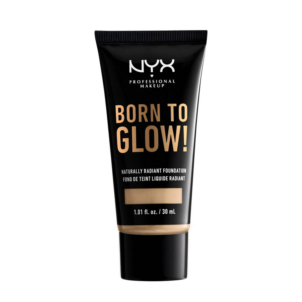 NYX Professional Makeup Born to Glow! Naturally Radiant foundation - Nude BTGRF6.5
