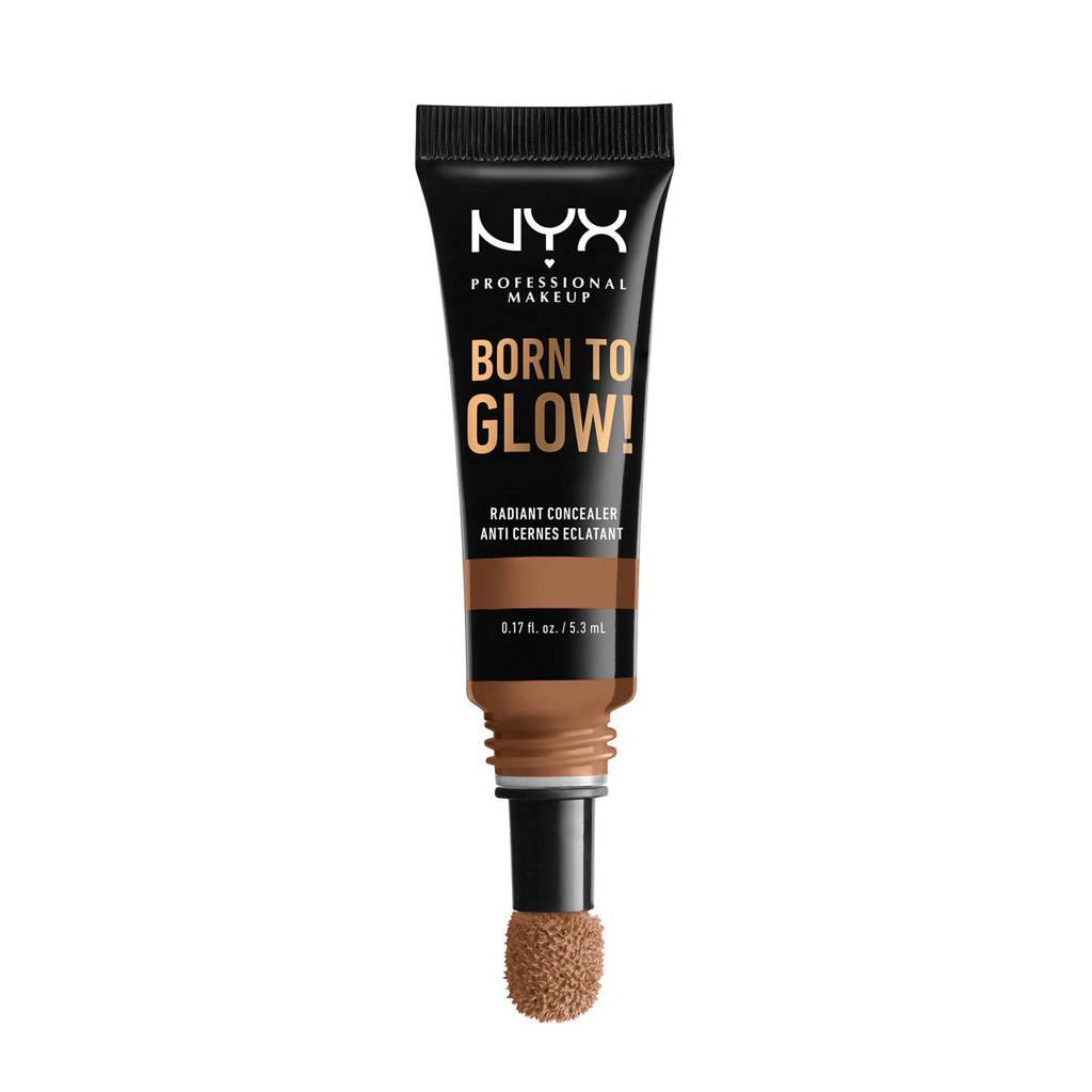 NYX Professional Makeup Born To Glow Radiant concealer - Mahogany BTGC16