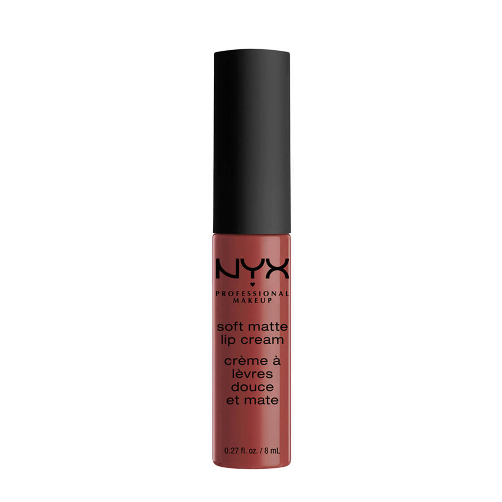 NYX Professional Makeup Soft Matte lippenstift - Rome SMLC32, Soft Matte Lip Cream Rome SMLC32