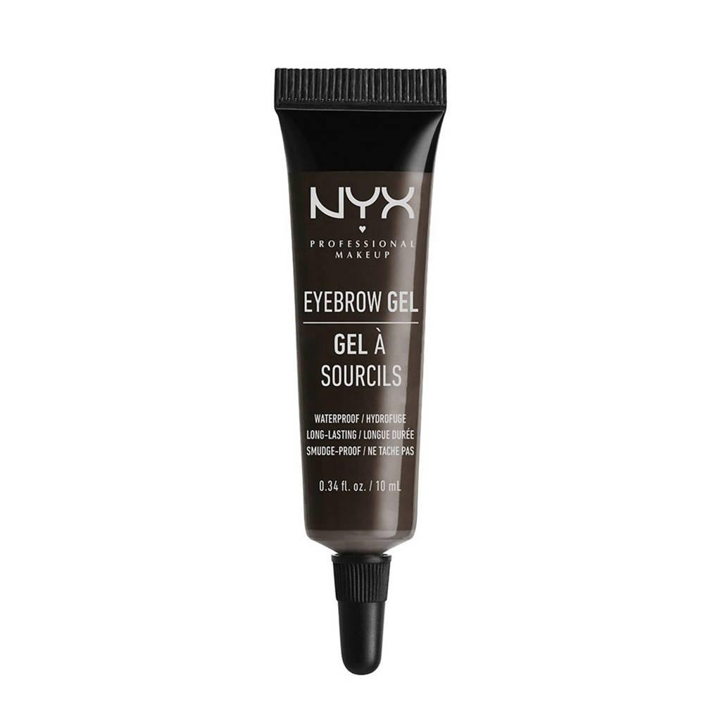 NYX Professional Makeup wenkbrauwgel - Black EBG05