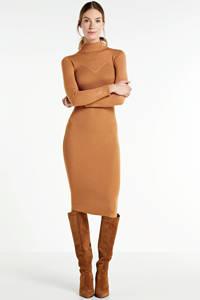 GUESS maxi jurk Ashley caramel, Caramel