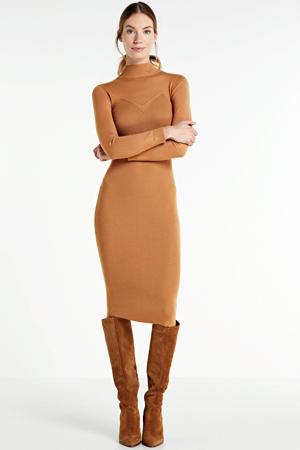 maxi jurk Ashley caramel