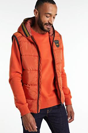 bodywarmer oranje