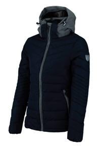 Falcon gewatteerde jas Seleste donkerblauw, Donkerblau