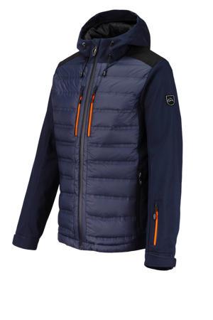 softshell ski-jack Stetson donkerblauw
