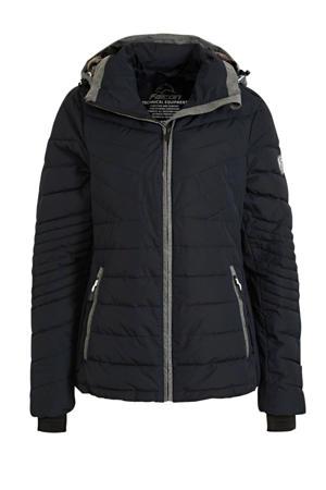 gewatteerde jas Seleste donkerblauw