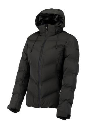 ski-jack Rivka olijfgroen/zwart