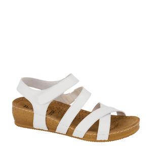 comfort sandalen wit