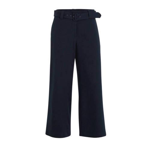 C&A high waist loose fit broek blauw