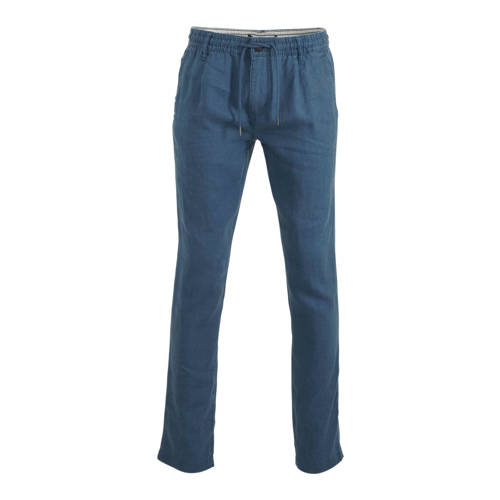 C&A Angelo Litrico linnen regular fit chino bl